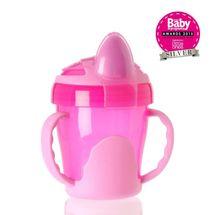 VITAL BABY - Dětský výukový hrníček 200 ml, růžový