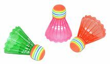 WIKY - Barevné košíky na badminton 3ks