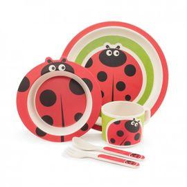 ZOPA - Bambusová sada nádobí, Ladybird