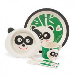 ZOPA - Bambusová sada nádobí, Panda