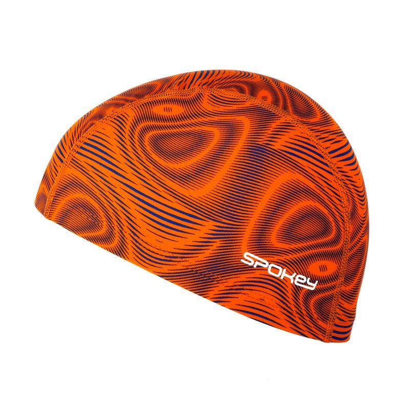 SPOKEY - TRACE Plavecká čepice nylon oranžová 9791157c01