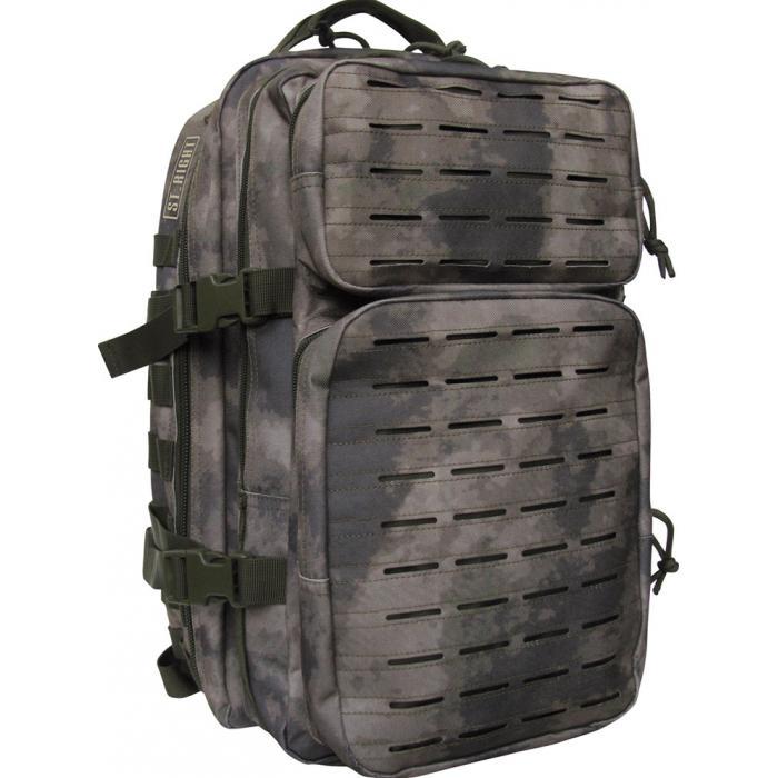 3c99af73369 MAJEWSKI - Studentský batoh St.Right Military Green A-Tec BP40 ...