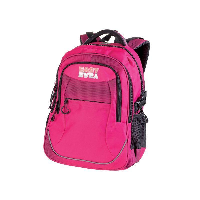 7453ff8025e EASY - Batoh školní tříkomorový růžový