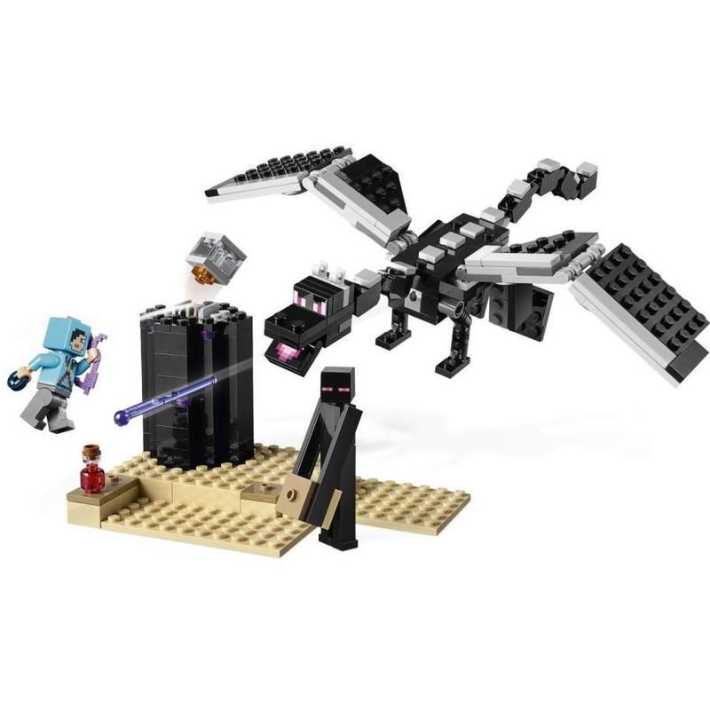 70c6d6bf4 LEGO - Minecraft 21151 Závěrečná bitva - Market-24.cz