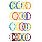 BRIGHT STARTS - Kousátko - C kroužky 24 ks, 0+