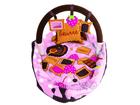 LUDI - Cestovní postýlka / deka s hrazdou růžová