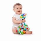 BRIGHT STARTS - Dečka maznacia Little Taggia čtverečky 30x30cm, 0m +, Čtverec