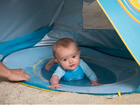 LUDI - Stan s bazénem anti-UV pro miminko