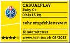 Casualplay - Autosedačka Baby 0 plus 0-13 kg 2017 - RASPBERRY