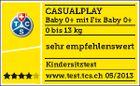 Casualplay - Autosedačka Baby 0 plus 0-13 kg 2017 - LAVA ROCK