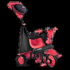 SMART TRIKE - Tříkolka Spark - Black / red