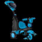 SMART TRIKE - Tříkolka Spark - Black / blue