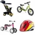 Dětská kola, tříkolky, odrážedla