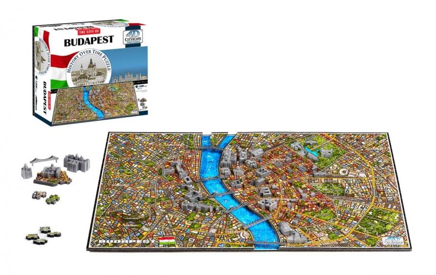 4D CITYSCAPE - 4D Puzzle - Budapešť