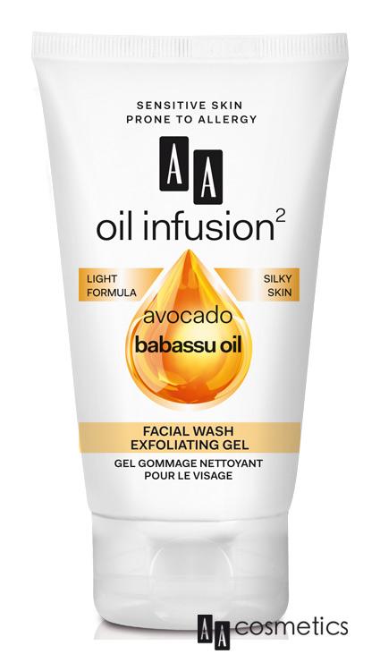 AA - Oil Infusion Čistící exfoliační gel na obličej 150 ml