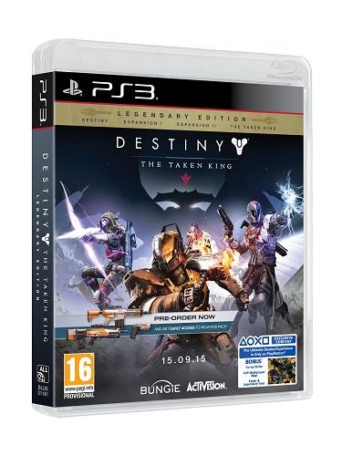 ACTIVISION-BLIZZARD - PS3 Destiny The Taken King Legendary Ed.