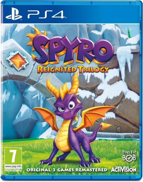 ACTIVISION-BLIZZARD - PS4 Spyro Trilogy Reignited