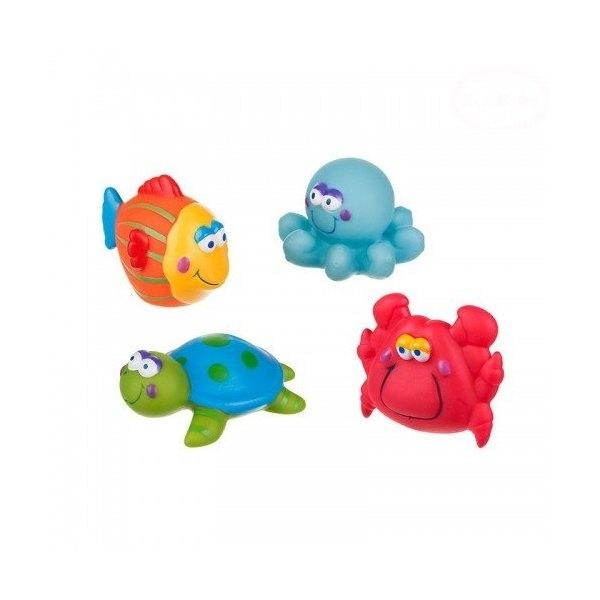 AKUKU - Hračky do vody - moře - 4 ks