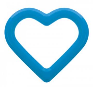 AKUKU - Vodní kousátko Srdce - modré