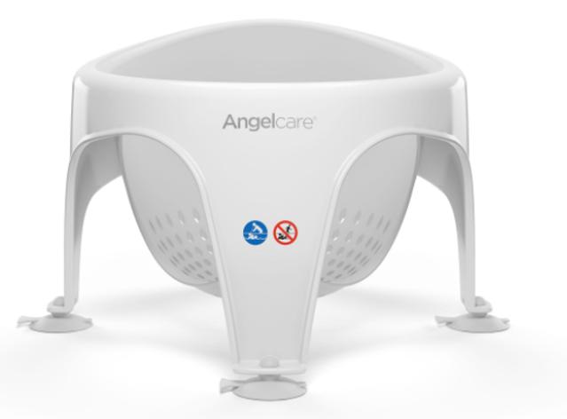 ANGELCARE - Sedátko do vany Light Grey
