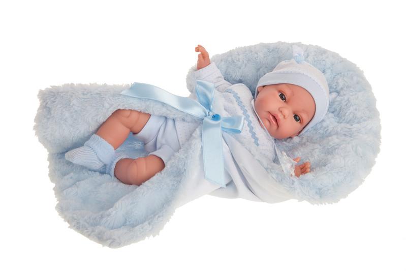 ANTONIO JUAN - 7029 TONET - realistická panenka - miminko se zvuky 34 cm