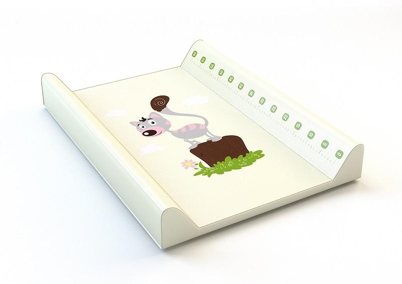 ANTONY FASHION - montovací přebalovací pult (smetanový) - kočička, velikost: 70x50x9 cm