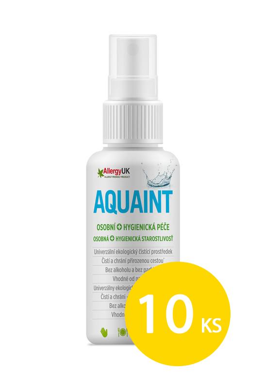 AQUAINT - Aquaint 100% ekologická čistící voda 50 ml x 10ks