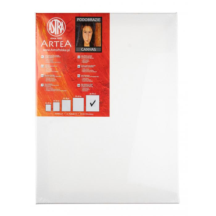 ASTRA - Malířské plátno na rámu 60X80 cm