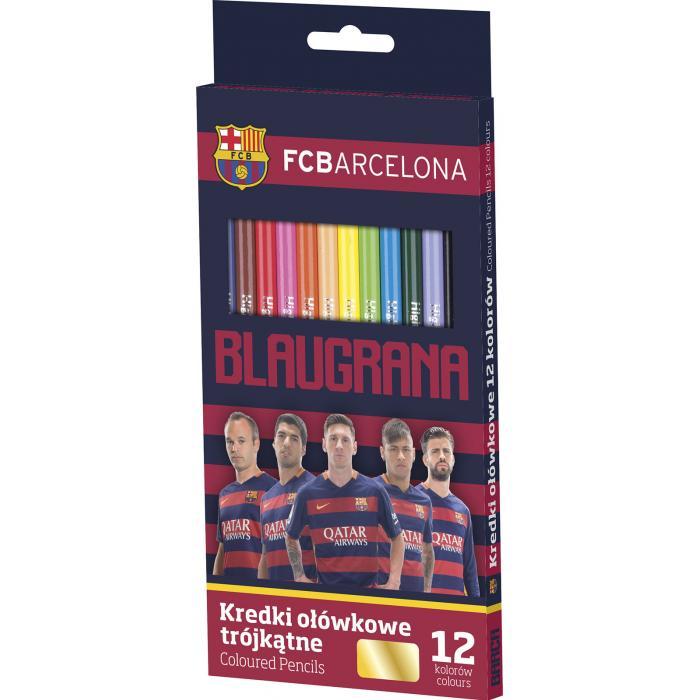 ASTRA - pastelky FC Barcelona 12 barev