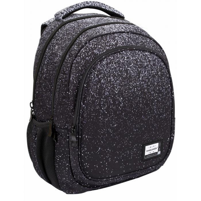 ASTRA - Školní batoh Head - Black Dust