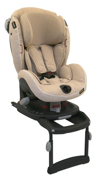 BESAFE - Autosedačka 9-18 kg iZi Comfort X3 Isofix - Ivory Mélange 03