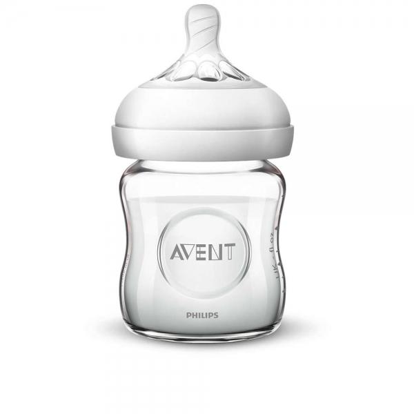 AVENT - Dětská skleněná láhev Natural, 120 ml