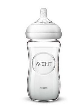 AVENT - Dětská skleněná láhev Natural, 240 ml