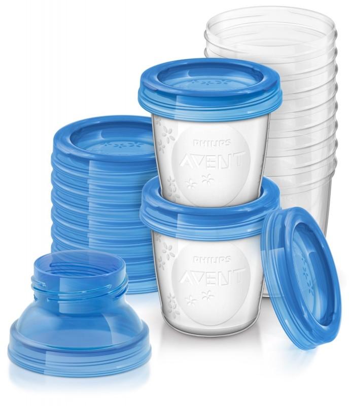 AVENT - VIA zásobníky na mateřské mléko 10 ks
