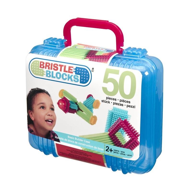B-TOYS - Hřebenová stavebnice v kufříku 50 ks