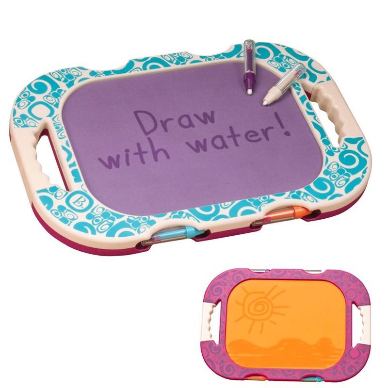 B-TOYS - Kreslení vodou oboustranná tabulka H2-Whoa