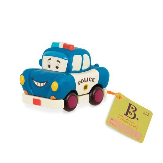 B-TOYS - Policejní auto na natahování