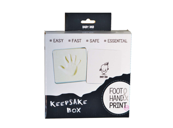 BABY DAB - Otisk 3D v krabičce