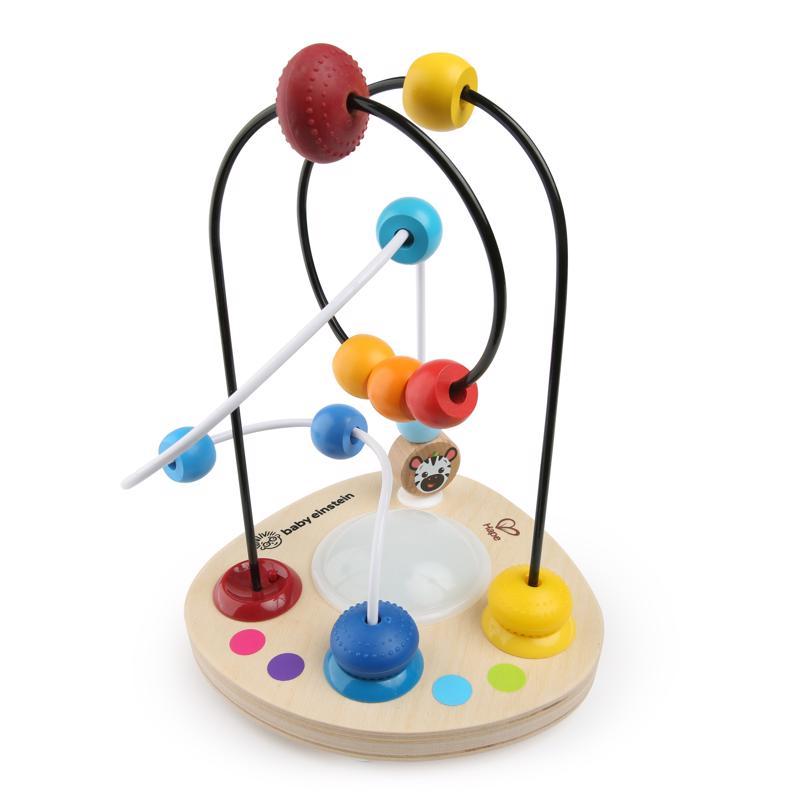 BABY EINSTEIN - Hračka dřevěná labyrint Color Mixer HAPE 12m +