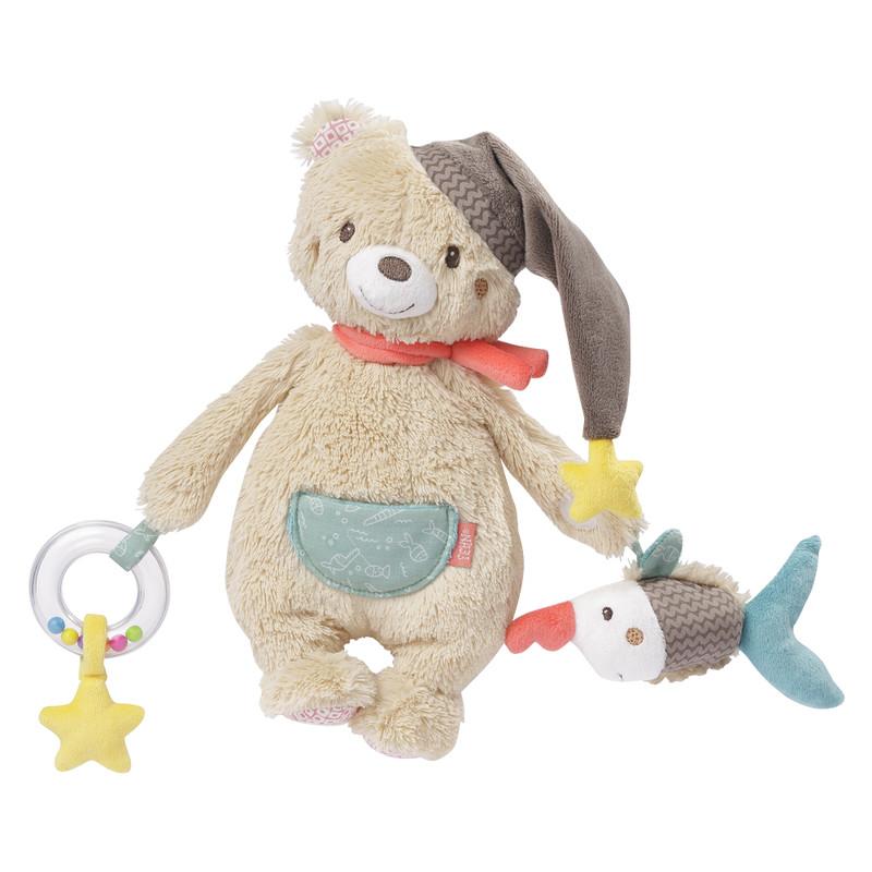 Fotografie BABY FEHN - Aktivity hračka medvěd, Bruno baby FEHN