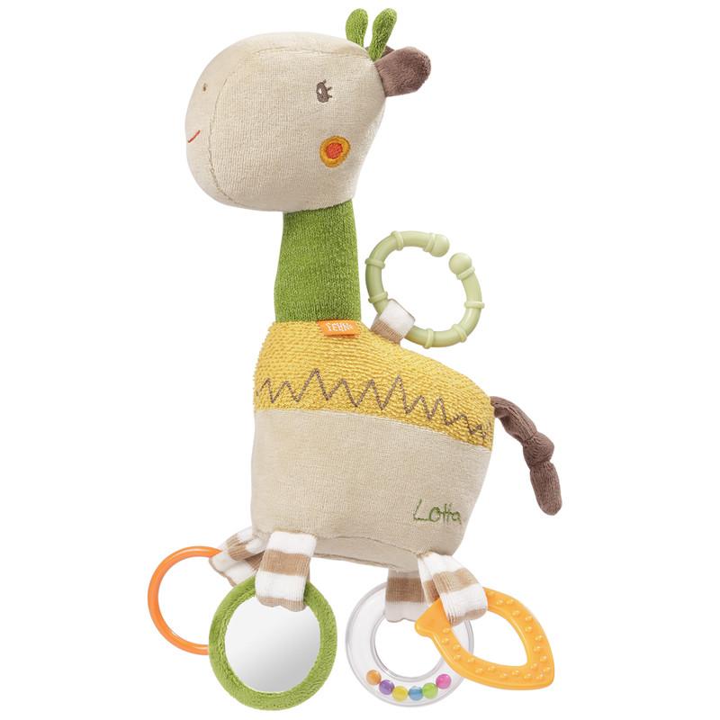 BABY FEHN - Aktivity hračka žirafa, Loopy&Lotta