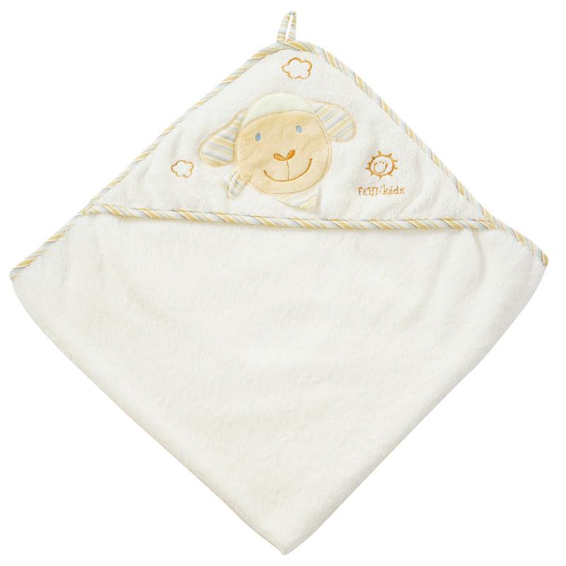 BABY FEHN - Babylove ručník s kapucí ovečka