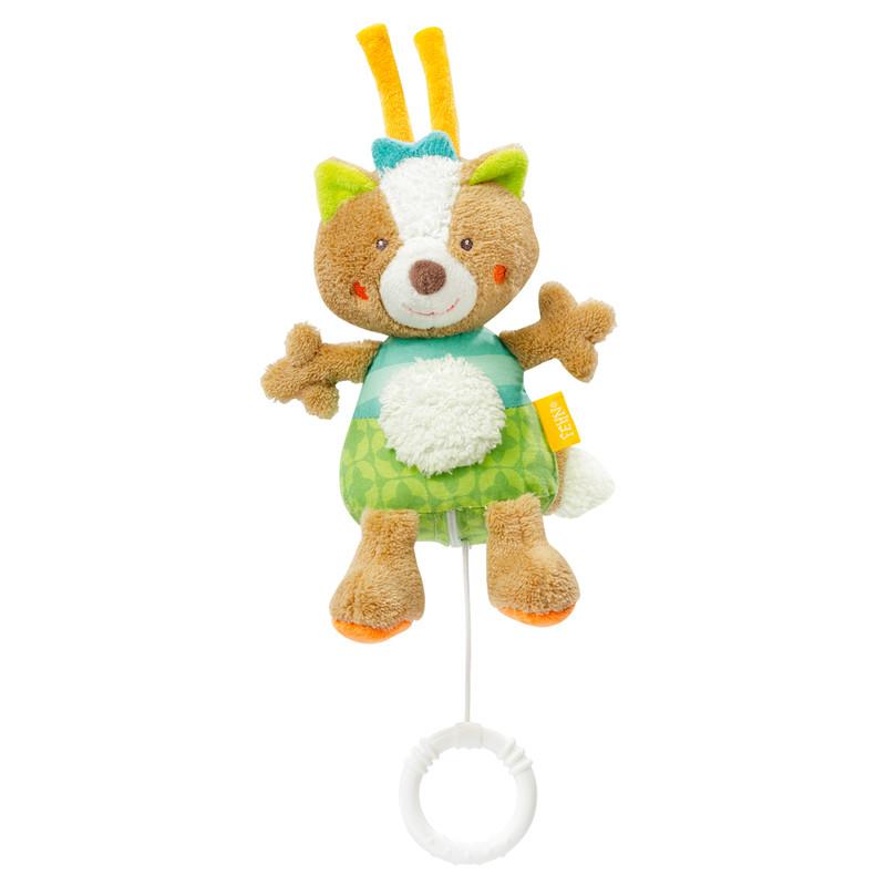 Fotografie BABY FEHN - Forest Závěsná hračka liška baby FEHN