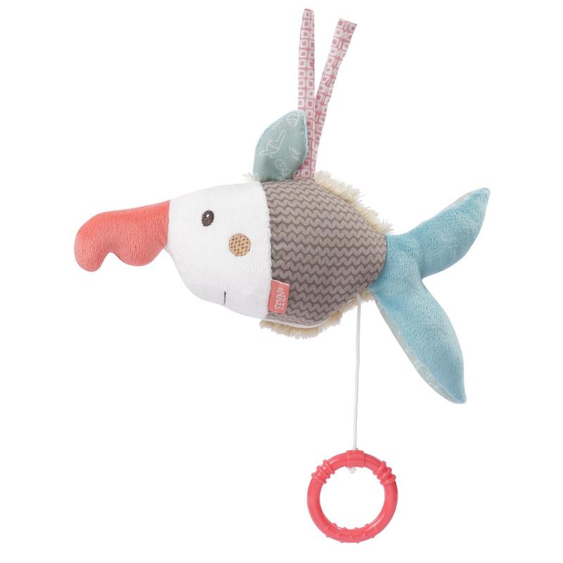 BABY FEHN - Hrací hračka ryba, Bruno