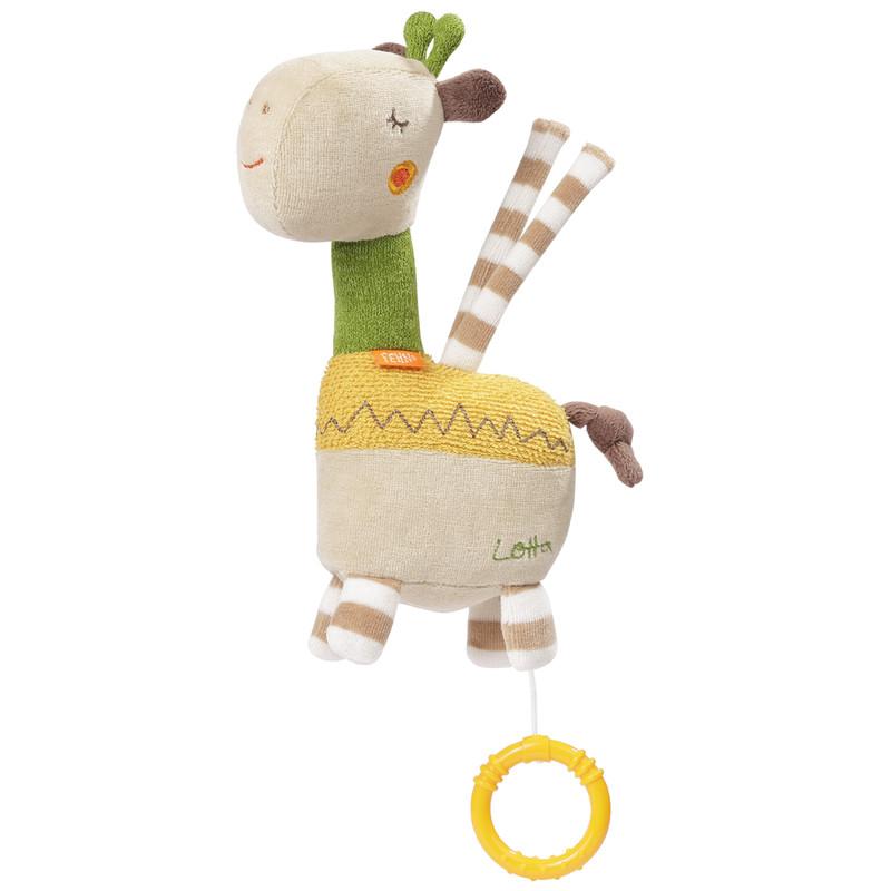 BABY FEHN - Hrací hračka žirafa, Loopy&Lotta