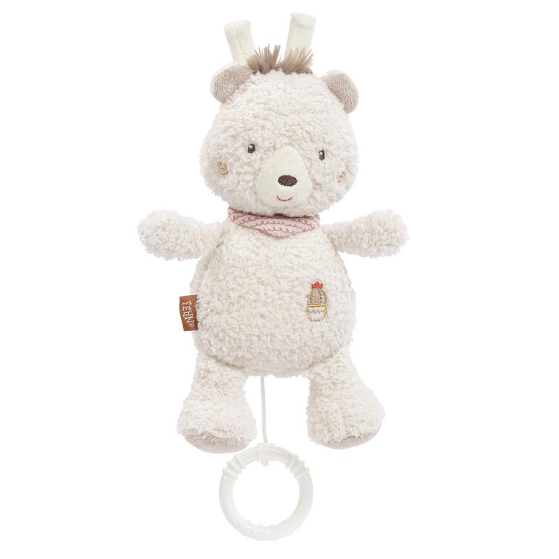 BABY FEHN - Hrací hračka medvěd, Peru Medvěd