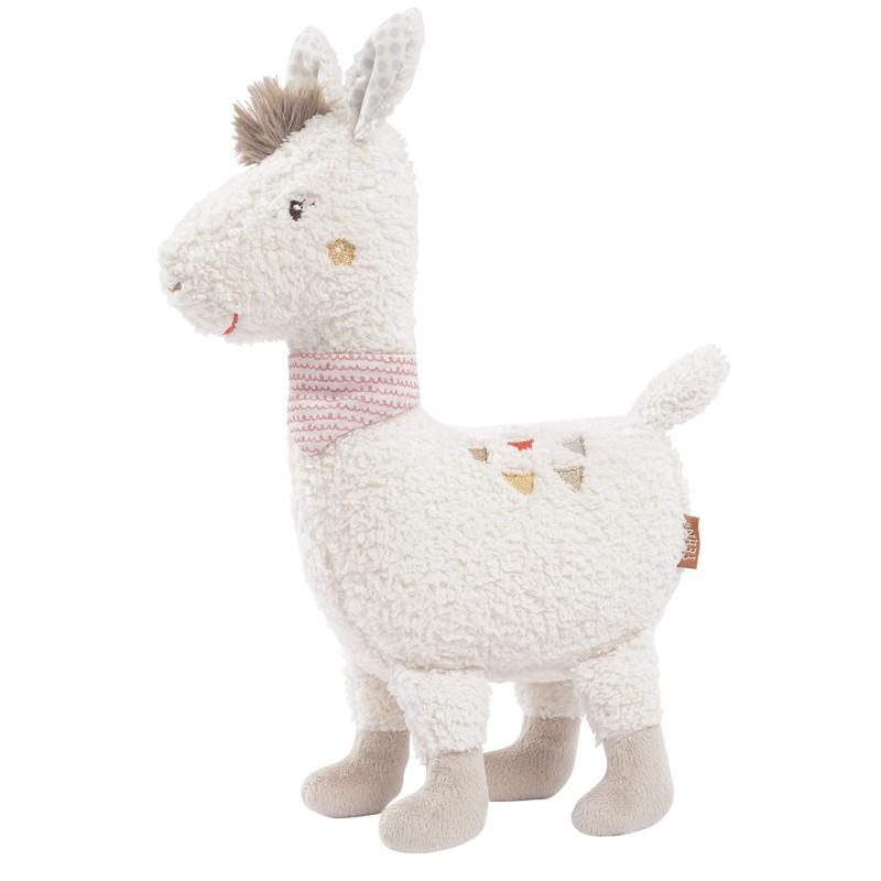 BABY FEHN - Hračka lama XL, Peru
