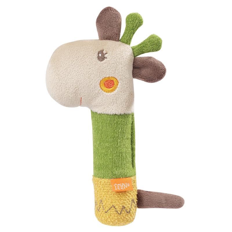 BABY FEHN - Pískací hračka do ruky, Loopy&Lotta