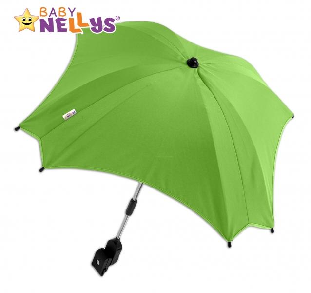 BABY NELLYS - Slunečník, deštník do kočárku ® - zelený