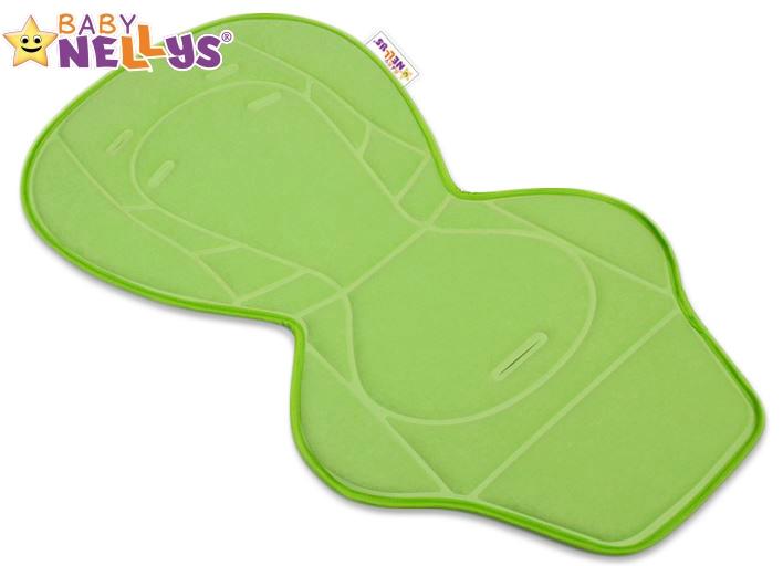 BABY NELLYS - Vložka do kočárku ® - zelená